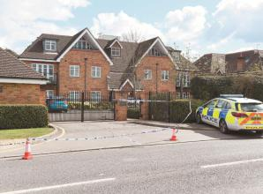 Man 'seriously ill' following stabbing in Shoppenhangers Road