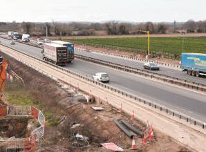 Additional safety measures needed before M4 smart motorway can operate