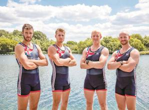 Cook and Gibbs help GB men's four to World Rowing Cup gold