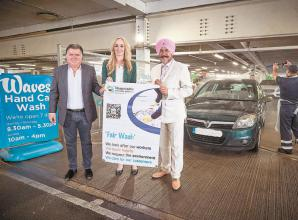 Hand car wash firms in Slough accredited for scheme to combat modern slavery