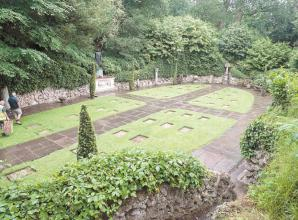 Unique war cemetery in Taplow restored by War Graves Commission