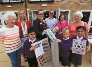 Youngsters invited to bury time capsule at Burnham retirement home